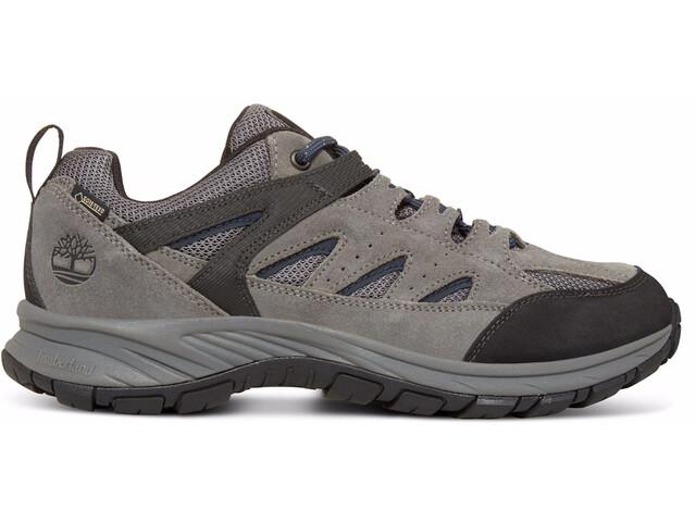 Timberland Sadler Pass F/L Low GTX Chaussures Homme, dark grey suede/mesh